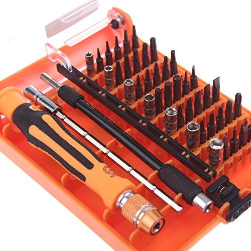 Preisvergleich Produktbild - Werkzeugsatz Professional 45Hardware Schraube Treiber Multi-Funktion für Home Repair Automotive Tool Kit ferramentas Multi Tools Set Hände