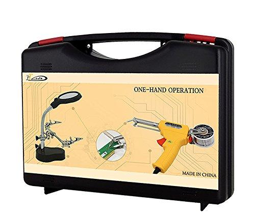 LT Nichalo Universal Lötpistole Kit, 60W 220V Elektro Zinn Verkabelung Lötkolben Set Schweißen Werkzeug