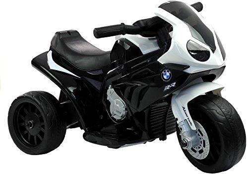 Elektromotorrad für Kinder Elektrisch Ride On Kinderfahrzeug Elektroauto Motorrad - BMW S1000RR - Schwarz