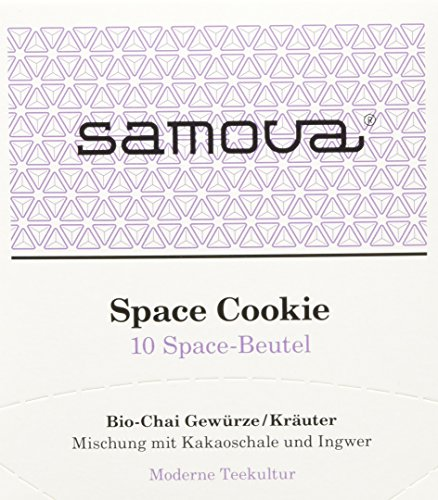 Samova Space Cookie Space 10er-Box, 1er Pack (1 x 20 g) - Bio -