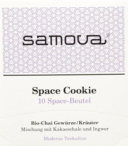 Samova Space Cookie Space 10er-Box, 1er Pack (1 x 20 g) - Bio