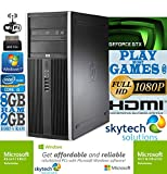 Ultra-Fast HP Gaming Computer Intel Quad Core i5 8GB RAM 500GB HDD Wi-Fi 2GB GDDR5 nVidia GeForce GTX 750 Ti Cheap PC