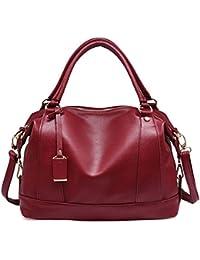 El bolso para mujer de los bolos del bowling del bolso empaqueta el bolso de cuero de la PU de la manera