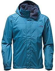 The North Face Resolve Chaqueta, Hombre, Azul (Blue), Large (Tamaño del fabricante:L)