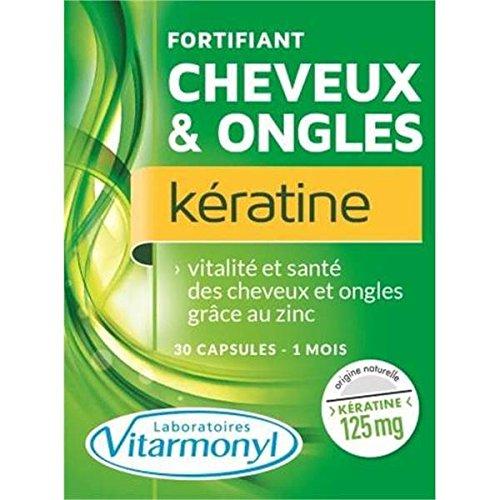 Vitarmonyl fortifiant ongles et cheveux kératine 25g - ( Prix Unitaire ) - Envoi Rapide Et Soignée