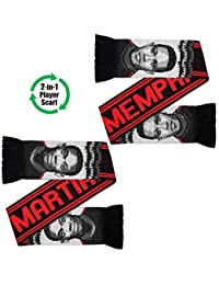 United Superstars Martial & Depay Jacquard Scarf Black