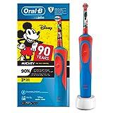 Oral-B Stages Power Kids - Cepillo eléctrico niños, personajes Mickey