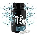 T5 Plus Fatburner Kapseln – Natürlicher Fettburner Acitve Black Zum Abnehmen – Schlank durch Thermogenese | Tabletten Für Männer Und Frauen | Fatburner | Regt den Stoffwechsel an | Supplement