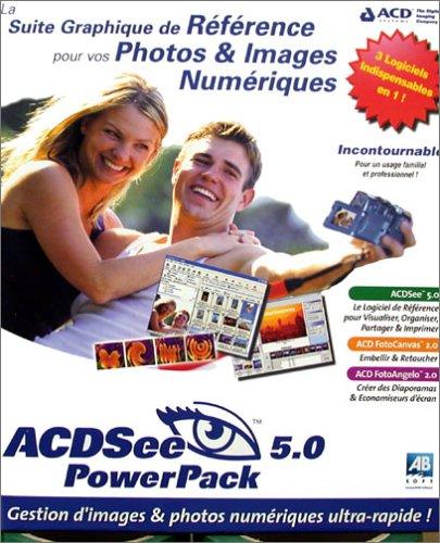 ACDSee PowerPack 5 (ACDSee 5, ACD FotoCanvas 2, ACD FotoAngelo 2) [Import]