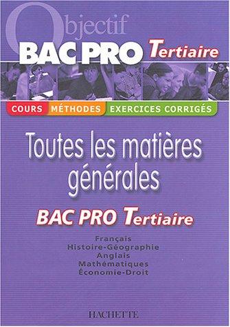 Objectif Bac Pro Tertiaire