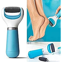 Cierie Electronic Pedicure Velvet Smooth Foot File Tool With Diamond Crystal Callus Remover