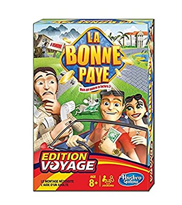 Hasbro - 002174470 - Jeu de Voyage - La Bonne Paye