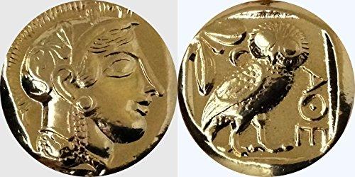 Heros, griechischen Götter und Göttinnen Collection # 12-g, Athena & Eule,