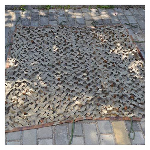 Netz Camouflage-Abdeckung Outdoor-Camouflage-Netz Geeignet für Camping versteckte Wald Jagd Schwimmbad Tarnung Zelt Sonnenschirm Fotografie Party Spiel Halloween Weihnachtsdekorati ()
