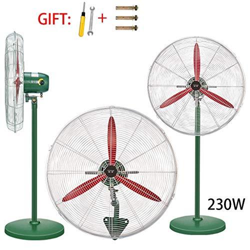Ventilador eléctrico Industrial de Alta Potencia Fuerte Ventilador montado en la Pared...