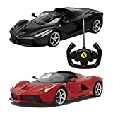 Rastar Remote Control 1.14 Ferrari LaFerrari Aperta Car - Color: Red