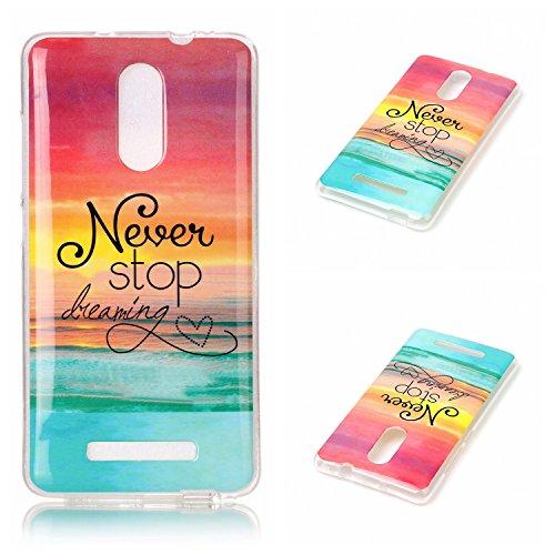 Voguecase® für Apple iPhone 7 Plus 5.5 hülle, Schutzhülle / Case / Cover / Hülle / TPU Gel Skin (Marmor/Schwarz) + Gratis Universal Eingabestift Never Stop 02