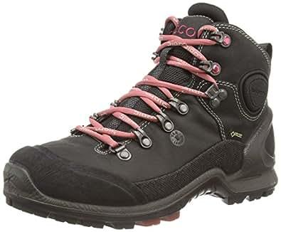 Ecco  ECCO BIOM TERRAIN LADIES, Chaussures de fitness outdoor femmes - Noir - Schwarz (BLACK/BLACK/PETAL TRIM), 36 EU