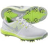 Nike Damen Lunar Control Golfschuhe, Weiß/Metallic Silver/Volt-Size 6,5 - Medium