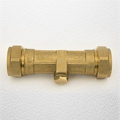 22 mm Double Clapet anti-retour