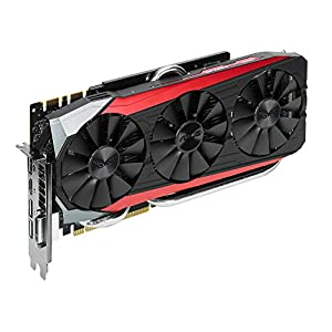 ASUS STRIX-GTX980TI-DC3OC-6GD5 Gaming Graphics Card (NVIDIA GeForce GTX 980 TI, 1190 MHz, 6 GB, GDDR5, 384 Bit, PCI-E )