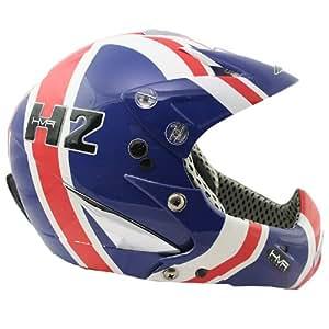 HMR Full Face Boarder X Full Face Ski Helmet Small Union Jack Design