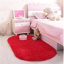 Amazon.es: Alfombras Para Dormitorios - Rojo
