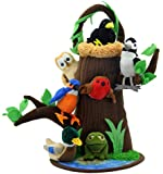 The Puppet Company - Hide Away Puppets - Tree House With Nest and Pond