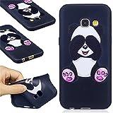 Ooboom® Samsung Galaxy A3 2017 Coque TPU Silicone Mat Caoutchouc Gel Housse Étui Cover Case Pare-chocs Souple Ultra Mince pour Samsung Galaxy A3 2017 - Panda