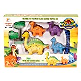 #8: HYE dinosaur Train Set, Multi Color