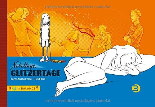 Cover »Nebeltage, Glitzertage: Kindern bipolare Störungen erklären«