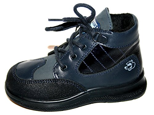 Jela-tex chaussures 61.090.33 hiver bottines Bleu - 22