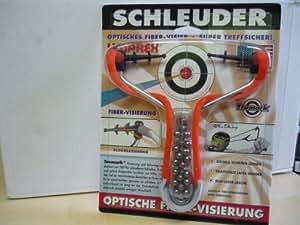 """Schleuder / Zwille """"S9FOT Slingshot"""" mit Zieleinrichtung"""