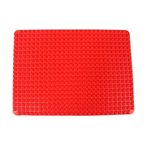 Silikon Backmatte, PYRUS Hitzebeständige Antihaft Kochmatte, Wiederverwendbare Backform, Gesunde Backwarenmatte (Fox Kuchen Pan)