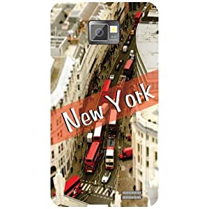 Samsung I9100 Galaxy S2 - New York Phone Cover