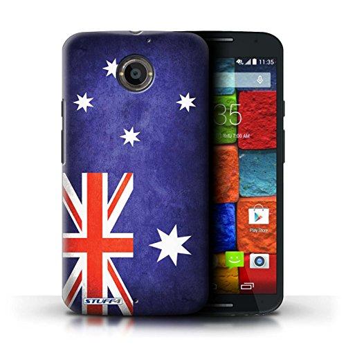 Kobalt® Imprimé Etui / Coque pour Motorola Moto X (2014) / Iran conception / Série Drapeau Australie/australien
