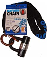 Oxford High Security Heavy Duty Chain Lock - Black, 1.0 m