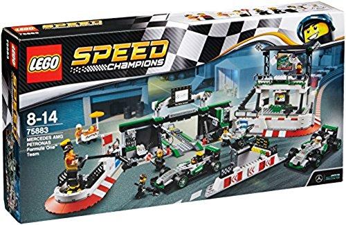 LEGO – 75883 – Speed Champions –  Jeu de Construction – MERCEDES AMG PETRONAS Formula One Team