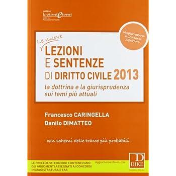 Lezioni E Sentenze Di Diritto Civile 2013. La Dottrina E La Giurisprudenza Sui Temi Più Attuali