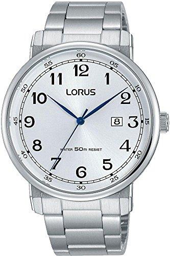 Lorus Reloj Analógico para Hombre de Cuarzo con Correa en Acero Inoxidable RH925JX9