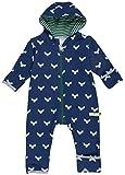 loud + proud Unisex Baby Schneeanzug Overall Woll-Anteil, Blau (Midnight Mi), 80 (Herstellergröße: 74/80)