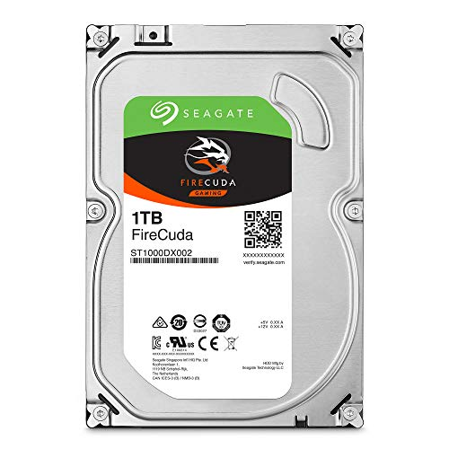 Seagate ST1000DX002 HDD Fire Cuda SSHD Festplatte 1000GB Portable Digital Video Recording System