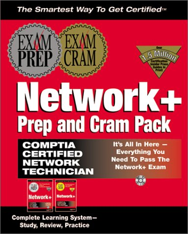 Network + Prep and Cram Pack: Complete Learning System : Study, Review, Practice par  Reeves