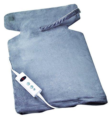 Promed Rücken und Nackenheizkissen NRP-2.4 für Rücken, Nacken, Schulter, waschbar, 10 Temperaturstufen, Überhitzungsschutz
