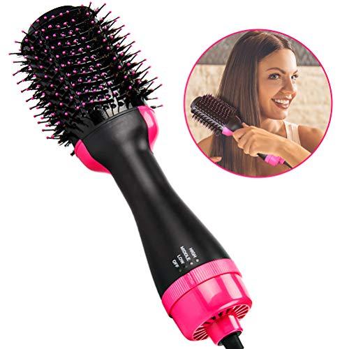 Ridioo 2-en-1 peine cabello ion infrarrojo plancha
