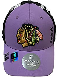 Chicago Blackhawks Reebok 2016 Hockey Fights Cancer Hat
