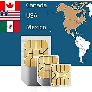 Prepaid Sim Karte Für Usa Mit 50gb Daten Roaming Saver Elektronik