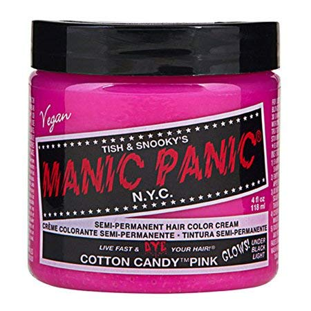 Manic Panic Haartönung COTTON CANDY PINK (Candy Farbe)