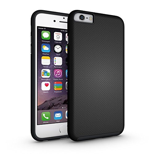 iPhone Se Coque,EVERGREENBUYING Ultra Slim léger 2 en 1 IPHONE 5 / IP5 Cases Housse Etui de protection Anti-dérapant hybride Cover pour iPhone Se / 5 / 5S Rose Noir
