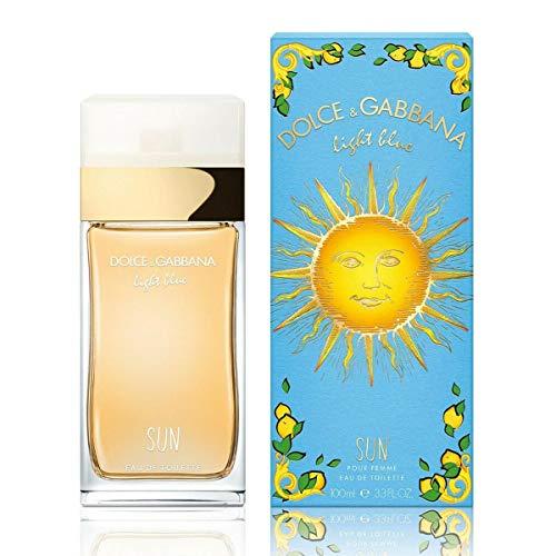 Dolce & gabbana - light blue sun pour femme summer 2019 eau de toilette spray 100ml - Dolce & Gabbana Light Blue Eau De Toilette Spray